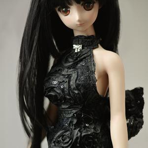 黑色礼服裙-CLF306
